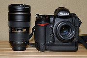 FOR SALE : XMAS SALES  Brand New Nikon D3 x12.1MP DSLR Camera +Nikon A